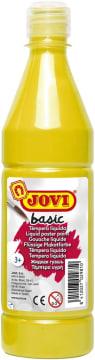 Basic poster maling, 500 ml., gul