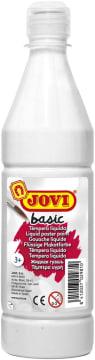 Basic poster maling, 500 ml., hvit