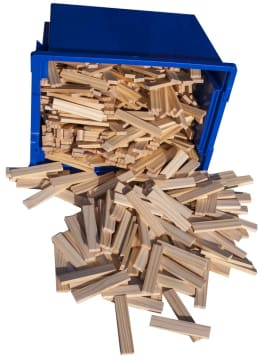 Byggestaver, 600 stk i kasse