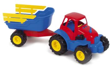 Traktor m/henger (karmer)
