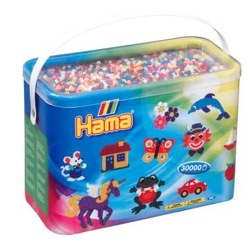 Hama perler, 30000 stk. ass.