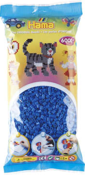 Hama 6000 stk lys blå
