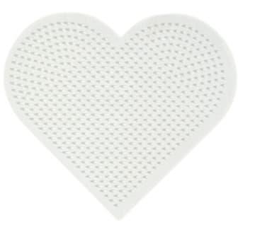 Piggplate hjerte stor