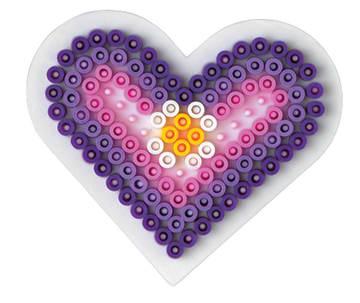 Piggplate hjerte liten