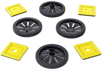 Hjul til Magnetisk Polydron, 32 deler