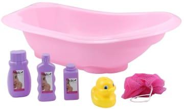 Badesett til dukke