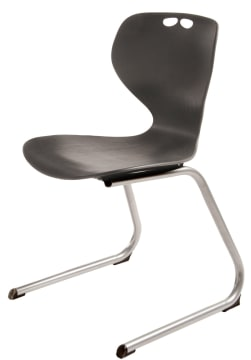 Rio Z stol, sort. Sittehøyde 45 cm