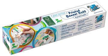 Banner roll. selvkl.papir m/motiv, 30 cm.x 4 m.sjørøver