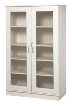 Glasskap uten lås, 160 x 100 x 45 cm