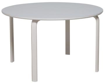 Rundt bord 120 med marmoleum
