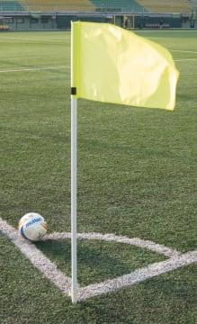 Hjørnestolpe Fixed Pro  Ø50mm, Fluoriserende gul