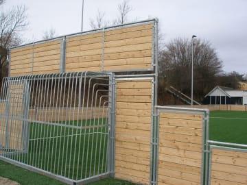 Multi-mål fullsveist  2x3 meter D: 100 cm m/dør