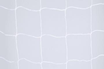 Minifotballnett, 4 mm PP  Hvit, D: 80/200 Knuteløs
