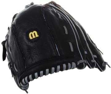Baseball hanske s/v  Til venstre hånd