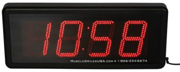 Crossfit Timer  21x53cm. Sifferhøyde: 12,5cm.