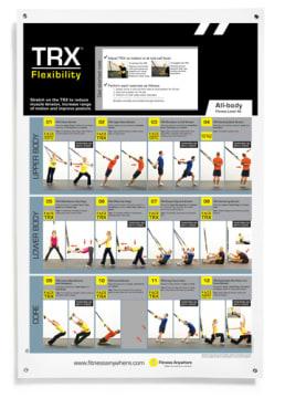 TRX Poster - Flexibility  Øvelsesplakat