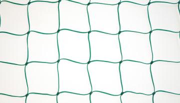 Minihåndballnett, D50/50 cm  10 cm masker, grønn PE