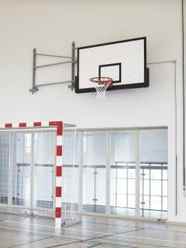 Basketstativ 120 cm innsving  Innsving på kulelager