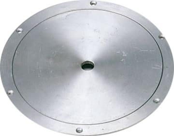 Deksel, Ø165/10 mm, rustfri  Til volleyball og alu.søyle