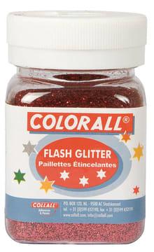 Glitter ''fint'' 150ml. rød