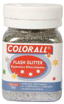 Glitter ''fint'' 150ml. sølv