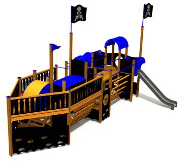 Piratskipet Black Joke, standard