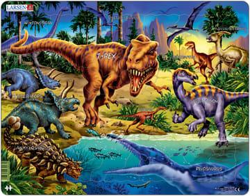 Puslespill, Dinosaurus 57 brikker