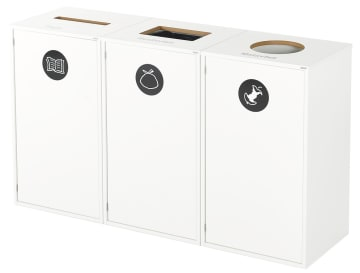 Avfallsskap smal åpning (for papir)