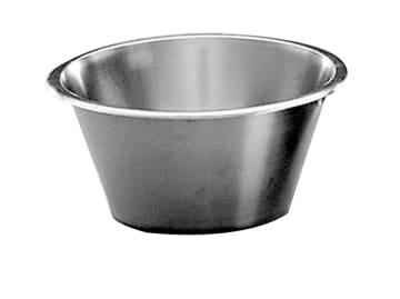 Kjøkkenbolle i rustfr stål 8 liter