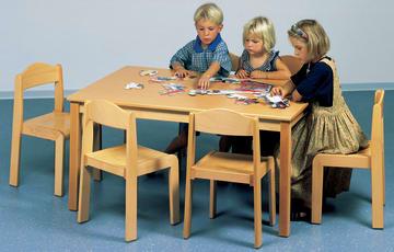 Sittegruppe 1(bord+6 stoler)