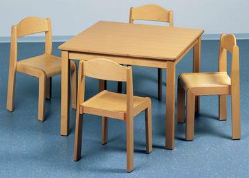 Sittegruppe 2(bord+4stoler)