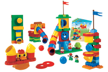 Lego Duplo Rør, 147 deler