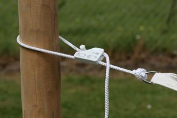 Robiniastolpe til solseil 4 m