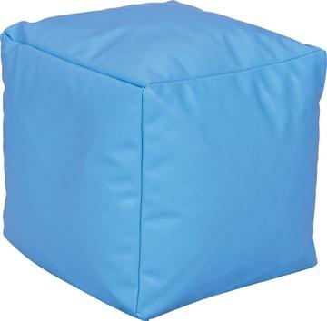 Liten Puff, blå 40x40x40