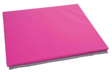 Beskyttelsesmadrass for vegg, rosa