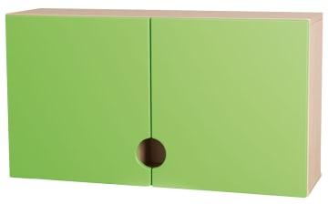 Bleieskap m/grønne dører