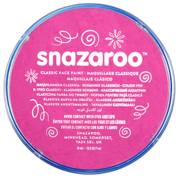 Snazaroo ansiktsmaling 18 ml. Rosa