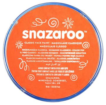 Snazaroo ansiktsmaling 18 ml. oransje