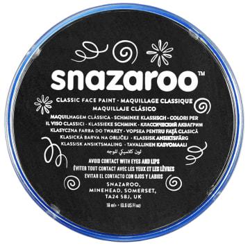 Snazaroo ansiktsmaling 18 ml. Sort