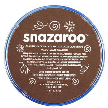 Snazaroo ansiktsmaling 18 ml. Lys brun