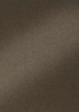 Perlemorkartong 250gr. 50x70 cm, 10 ark. Mørk brun.