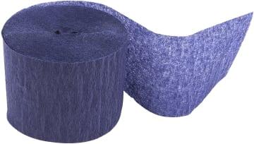 Kreppapir ruller, B:5cm, L:20 m, 20 rl, blå