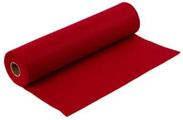 Hobbyfilt, B:45cm, 1,5mm, 5 m, gml. rød