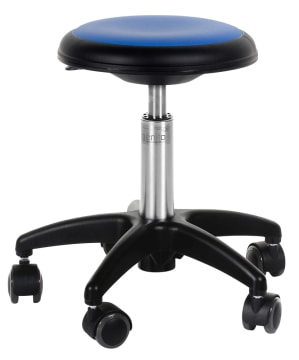 Påkledningsstol Medium blå (38 -48 cm)