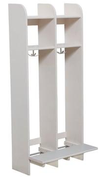 Milas Lux Garderobe 30cm m/benk 2plasser