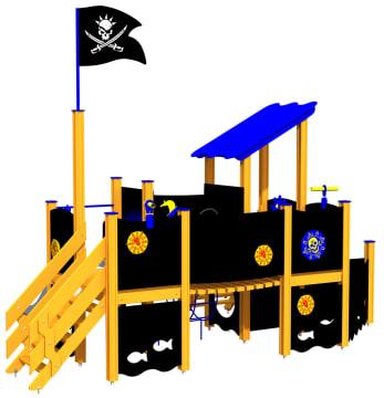 Piratskipet Stigende sol, standard