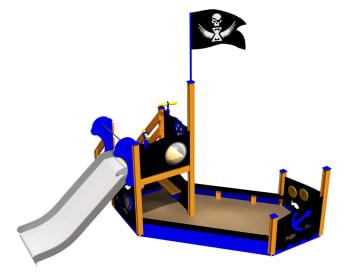 Piratskipet Kaptein John, standard