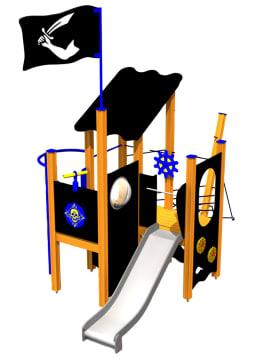 Piratskipet Amity, vedlikeholdsfritt