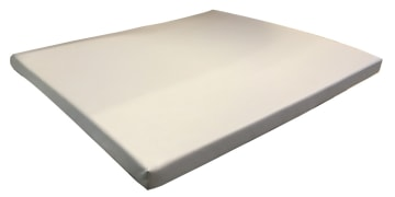Stellematte 90 x 80 x 5cm, Lys grå
