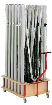 Badmintonvogn til 6 sett  L123 x B73 x H99 cm. til Ø83